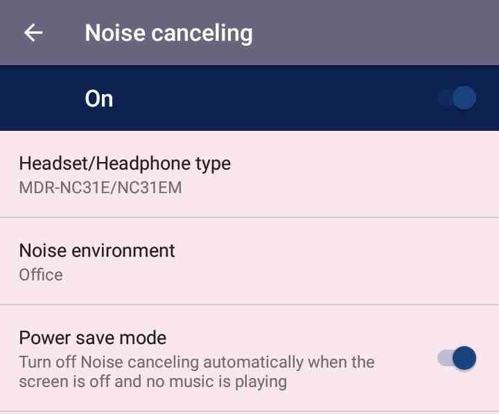 Pengaturan Noise Canceling | arum.me