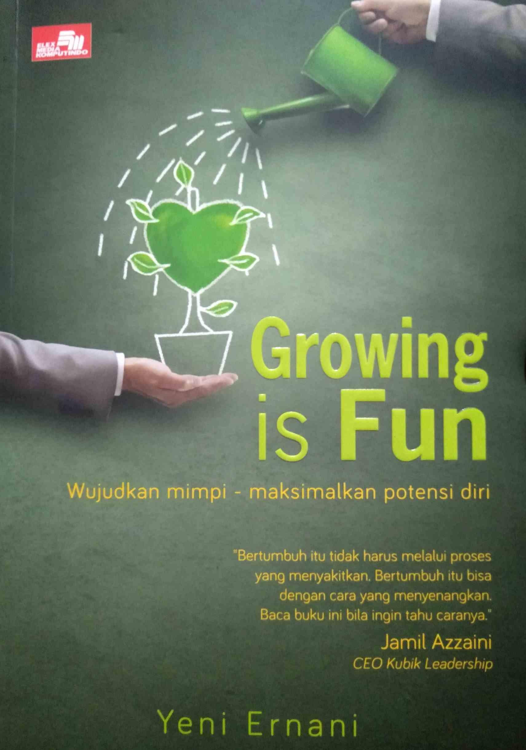 Review Buku Growing Is Fun | arum.me