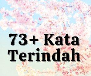 73+ Kata Terindah | arum.me
